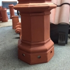 CP23L Ashgrove please refer to gas/wood large clay chimney pot page