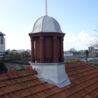 Lead cupola  before The Art Station Ponsonby