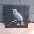 Tui Plaque made by Steve Kelly on behalf of Macmillans