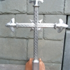 lead crucifix - custom made