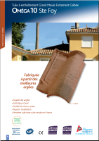 Omega 10 clay roof tiles [2.38 MB PDF]