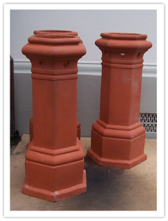 Clay Chimney Pots Macmillan Slaters Amp Tilers